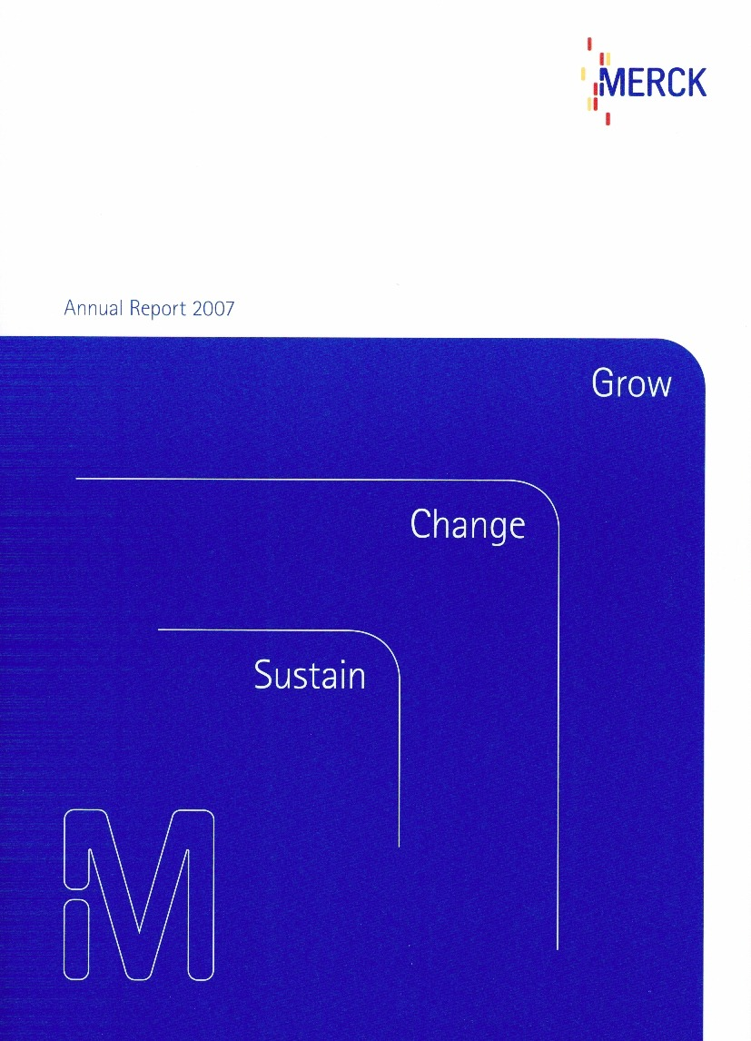 annual report for merck See more in merck's comprehensive reports and financials  reports, half- yearly financial report restatement of q1/2017–q1/2018 p&l statements.