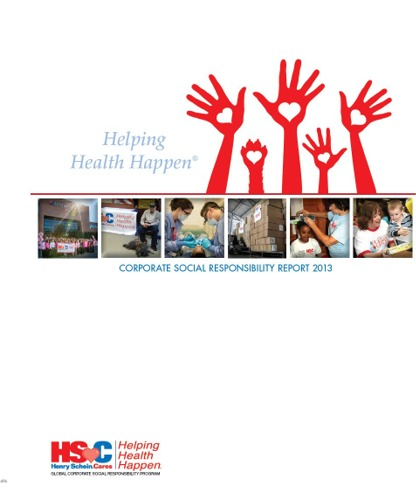 The Henry Schein 2013 Corporate Social Responsibility Report