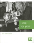annual report awards, Global Communications Competition, annual report contest, TD Bank Group