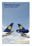 annual report awards, Global Communications Competition, annual report contest, Lufthansa Cargo AG