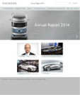 annual report awards, annual report competition, annual report contest, Daimler AG