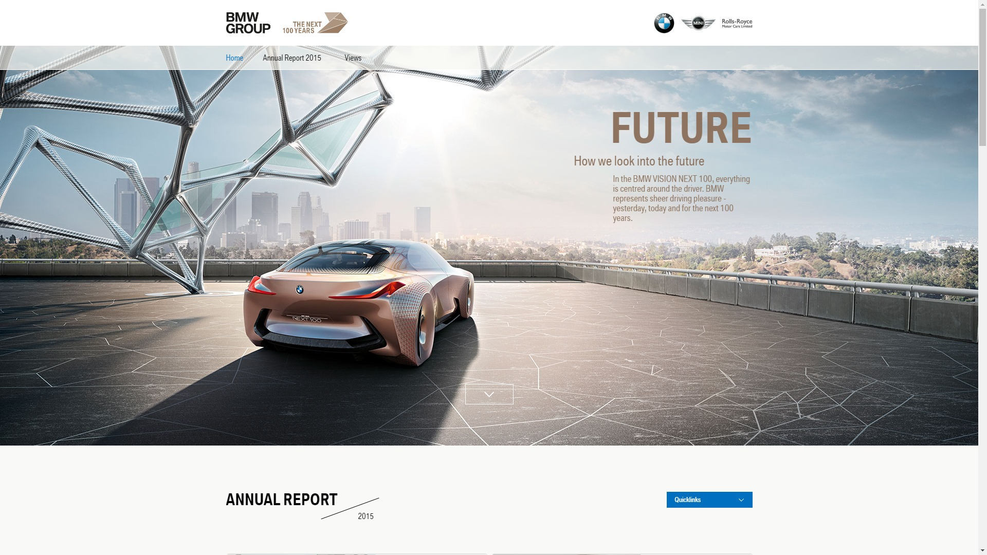 Lacp 2015 Vision Awards Annual Report Competition Bmw Group Eqs