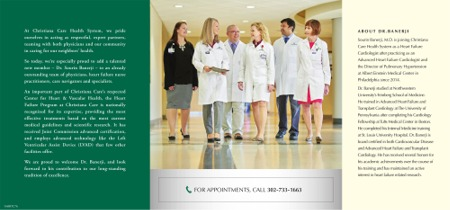 Christiana Care Heart Failure Program Physician Marketing