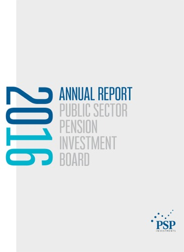 PSP Investments 2016 Annual Report