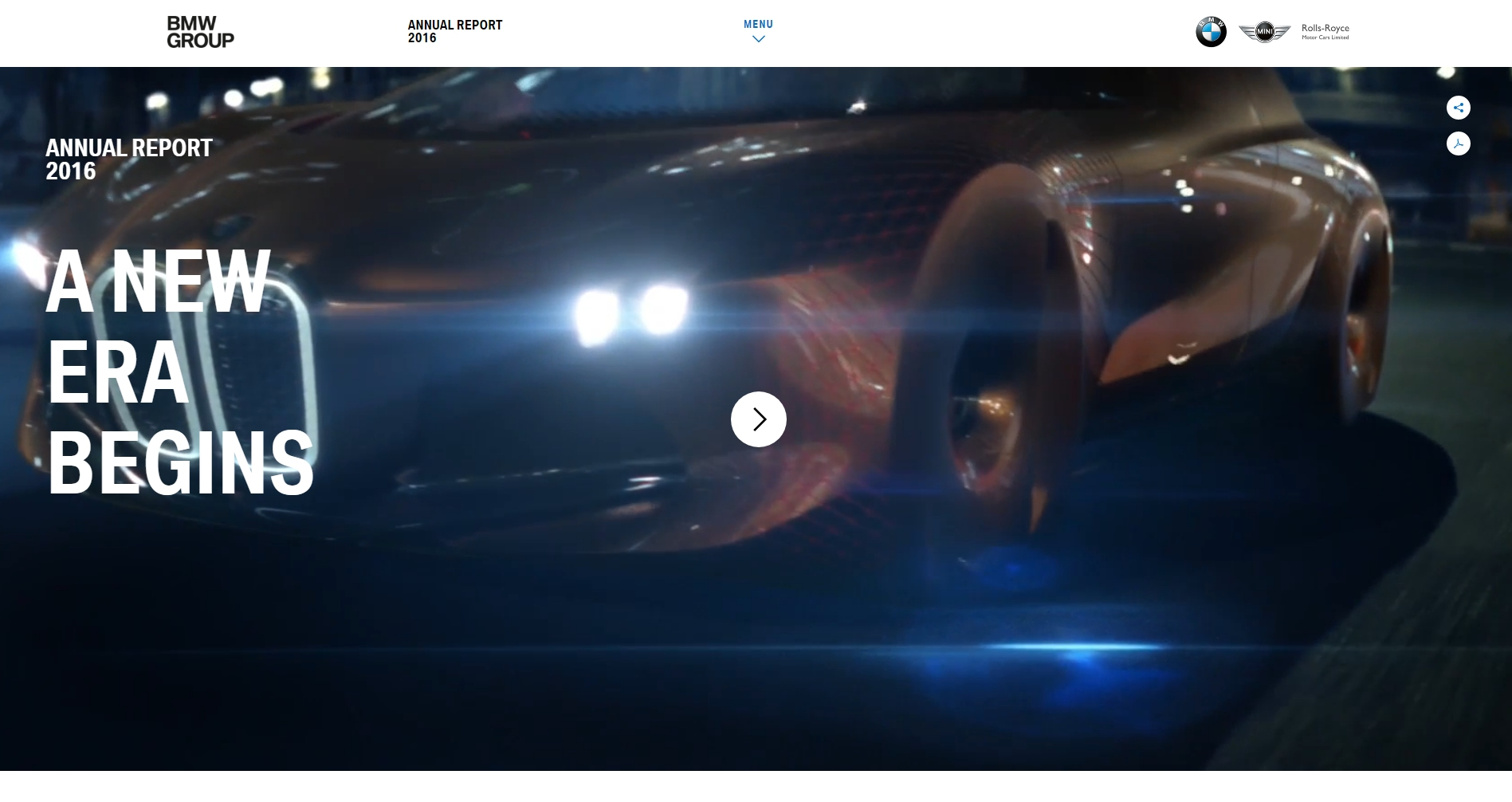 Lacp 2016 Vision Awards Annual Report Competition Bmw Group Eqs