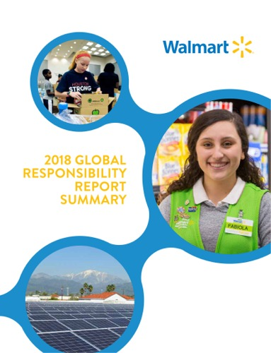 The Walmart 2018 Global Responsibility Report