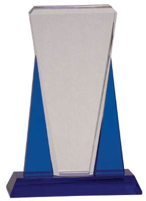 LACP Crystal Triumph: Corporate-Grade Statuette