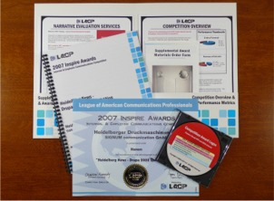 A sample Results Kit provided to all participants