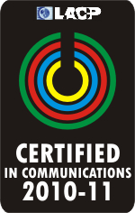 LACP Certified in Communications Logo