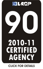 LACP Certified Agency Logo